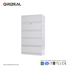 Orizeal 5 Drawer Vertical Lateral Filing Cabinet with Anti Titled Lock (OZ-OSC015)