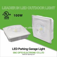 Luz de superfície do dossel do diodo emissor de luz da montagem para a garagem de estacionamento 100 watts