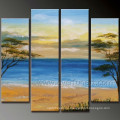 100 % Handmade Modern Wall Art Landscape Oil Painting (LA4-056)