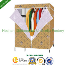 Fashion Folding PP Non Woven Fabric Cloth Wardrobe (LD-135B)