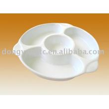 Plaque de dessert en céramique en gros directe d'usine