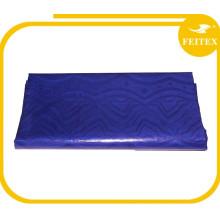 Синий цвет Оптовая цена фабрики мода африканский Джордж ткани из Индии для свадьбы