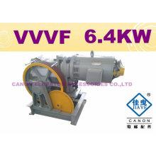 HEIßES!!! 630KG 6.4KW VVVF-Aufzug-Maschine (MRL)