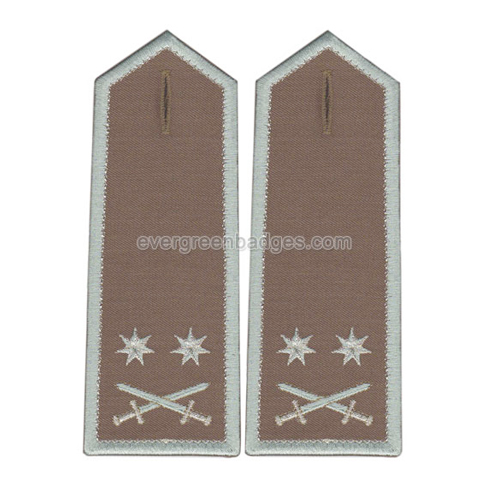 Высокое качество Custom Hand Embroidered Epaulettes