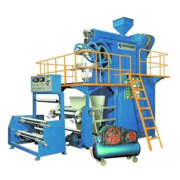 Down Blow PP Rotary Die-Head Blowing Film Production Line