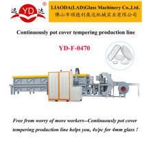 Good Project to Make Cookware Glass Lid Production Line