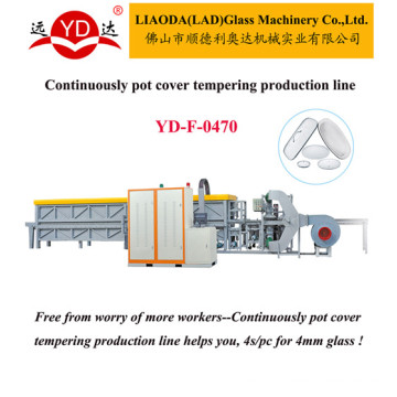 for Glass Lid Processing Tempering Furnace