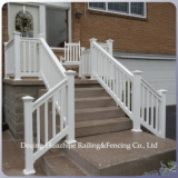 cheap PVC outdoor stair railings