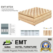 High Quality Hotel Bedroom Mattress (EMT-MTD4)