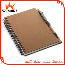 Quality Spiral Notebook with Full Color Printed Cardboard Cover (SNB110)