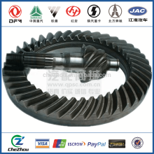 Axle Driving & Driven Bevel Gear /Differential Gear 2502ZH1827-025/026 for Dongfeng Truck DFL4251 with good performance low pri