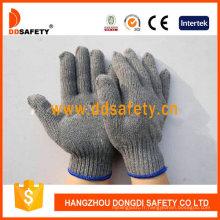 Gants extensibles qualité Ce gris Gants coton / polyester Dck503