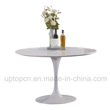 Wholesale Pure White Tulip Table for Waiting Room (SP-GT418)