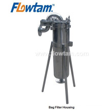sanitary stainless steel top entry bag filter housing