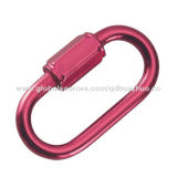 Rigging Hardware of Aluminum Quick Link, Various Colors, ISO 9001