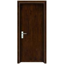 porta de madeira do quarto interior