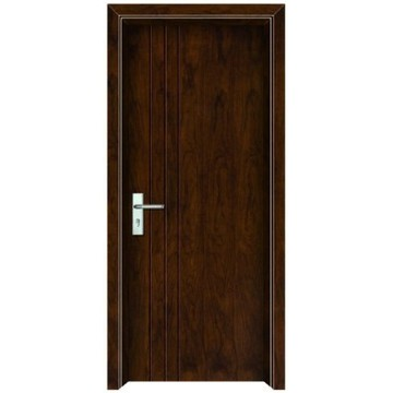 porte en bois pièce intérieure