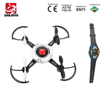 New Products Kids Toys Mini Drone DIY Watch Gravity Sensor Drone Gesture Control One Key Gyro Stunt Quadcopter SJY-FX-29A