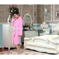 2015 hot sale terry fleece women bathrobe
