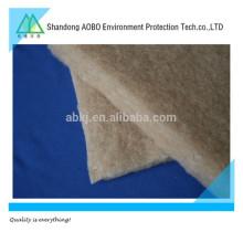 Feutre aiguilleté de poils de chameau de haute qualité, rembourrage de chameau ou rembourrage