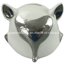 Lovely Gift of Fox Shape Money Bank for Home Decoration