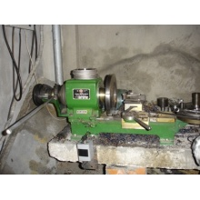 Small Lathe Machine for Metal Gasket Cutting