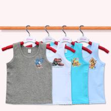 Camisola de alças das crianças Camisola dos miúdos Veste ocasional do verão Criança Wear Camisa sem mangas de T