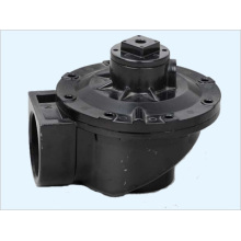 Alumínio Die Casting Pulse Valve Dust Parts