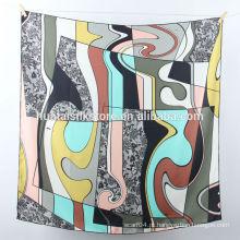 2014 A seda pura do projeto novo imprimiu o bandana do lenço