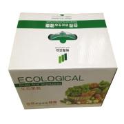 Respetuoso del medio ambiente cajas de cartón corrugado para embalaje de frutas