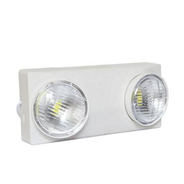 Accesorio de emergencia LED de 2 cabezales con batería
