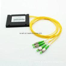 Fibra óptica divisor con caja de ABS