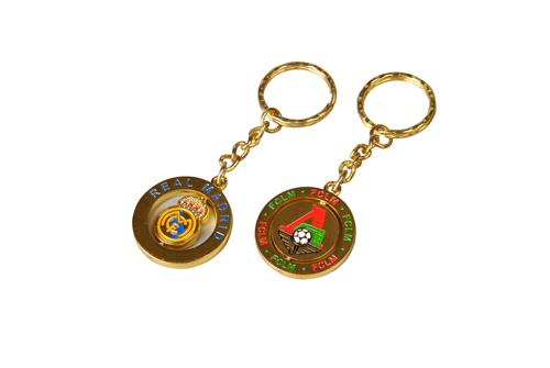 Eco-friendly Promotional Metal Key Chain