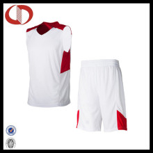 100% Polyester Dry Fit Custom Logo Basketball Uniform for Boys