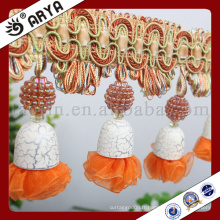 2016 nouvelle bague de perles de design pour décoration de rideaux et autres textiles de maison