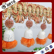 2016new design beads fringe for curtain decoration and other home textile