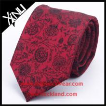 100% tissés à la main jacquard tissé à la main motif de cravate en soie Floral qui acceptent PayPal