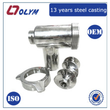 OEM 39Cr13Mov food machinery meat grinder cast steel parts