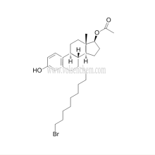 КАС 875573-66-3,Фулвестрант средний (7а,17б)-7-(9-Bromononyl)-Эстра - 1,3,5(10)-Триен-3,17-Диола 17-ацетат