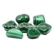 Pierre de galets de pierres précieuses Malachite