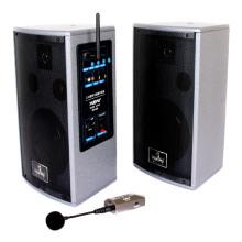2.4G conjunto de altavoces con transmisor y micrófono, 60W
