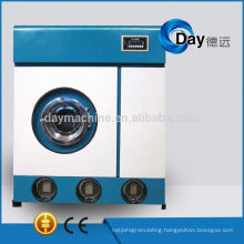 Commercial hydrocarbon dry cleaning