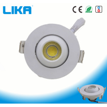 1W Round Adjustable Eye Ball Fitting COB Downlight