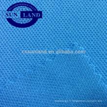Tissu de tricotage de trame 100% pique bébé polyester