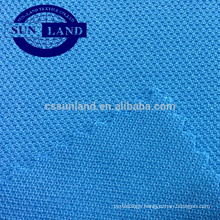 100 polyester single baby pique weft knitting fabric for polo shirt