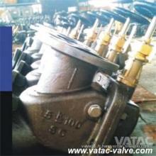 JIS Std Cast Valve de vissage en acier trempé (RX-MV-RK F3060 5K)