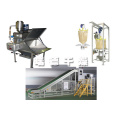 Resin powder ton bag packaging system