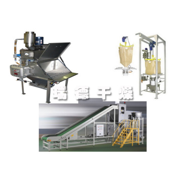 Feldspar ton bag packaging system