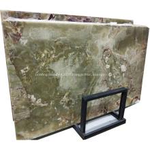 Dalle de marbre vert pierre naturelle onyx beauté