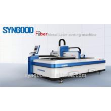 Máquina de corte do laser da fibra espessura de 0.5-16mm Projeto aberto 1500 * 3000mm